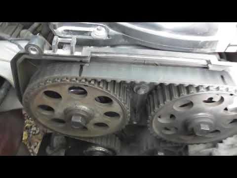 Как правильно выставить Ремень ГРМ в 16 клапанном двигателе ВАЗ