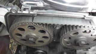 Как правильно выставить ремень ГРМ в 16 клапанном двигателе