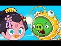Angry Birds Fights FINAL MAP Flower Island 6 7 IOS Android mp3