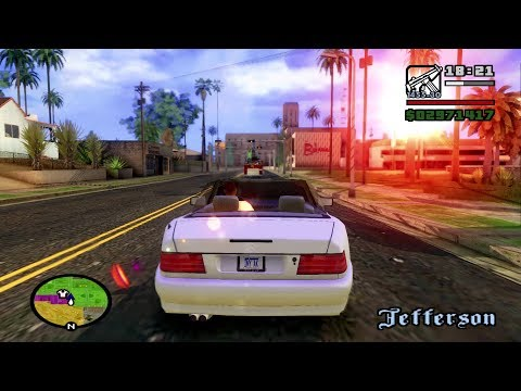 GTA San Andreas Remastered (PC) - HQ Textures and HD Graphics (ENB) - Final Mission (1080p)