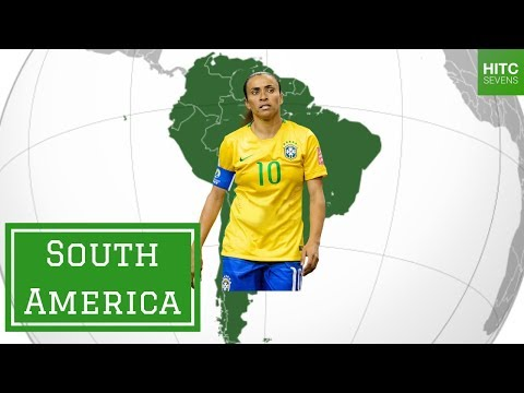 Best Female Footballer From EVERY Continent