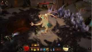 Diablo 3 - HARDCORE Monk - Defeating Izual ''The betrayer'' [HD]