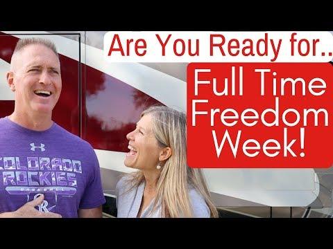 Full Time Freedom Week 2018 - RV Education - Full Time RV Living