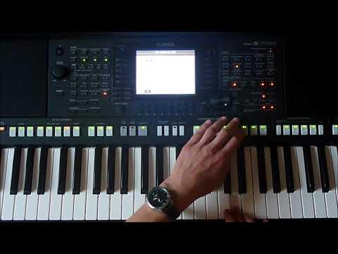 Luis Fonsi-Despacito ft.Daddy Yankee (Yamaha Psr s750)