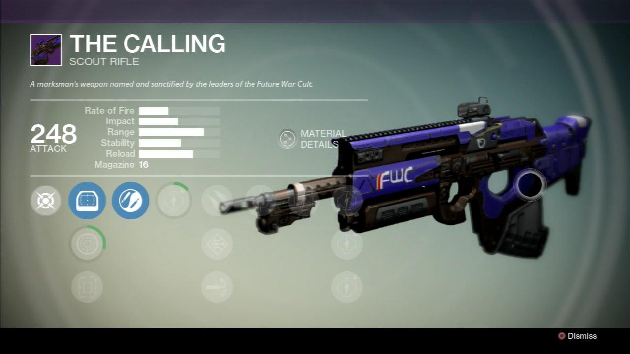Destiny legendary weapons success