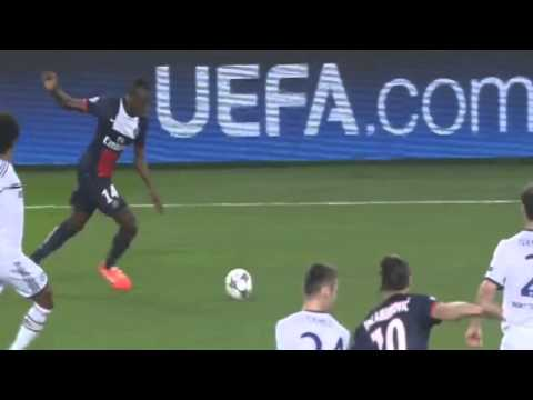 Ezequiel Lavezzi Goal vs Chelsea - PSG vs Chelsea ( 02/04/2014 ) HD