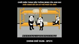 Ching Chó Vlog - Gấu Hài Hước (Ep374) | Hồi học cấp ba không được mang điện thoại vào lớp