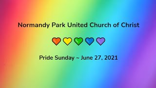 NPUCC Worship for Sunday, June 27th, 2021