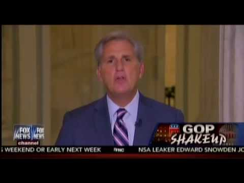 Kevin McCarthy: Benghazi Committee Tanked Hillary's Poll Numbers