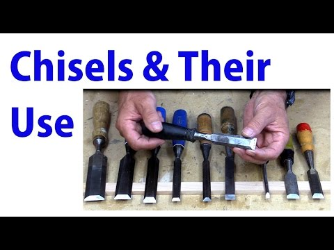 Wood Chisels and Their Use - Beginners Woodworking #26 - YouTube
