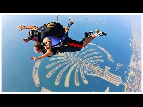 Прыжок с парашютом в Дубаи (ТАНДЕМ)