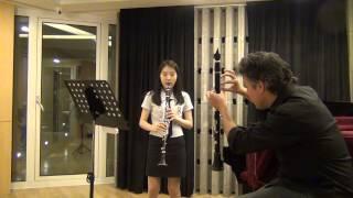 PATRICK MESSINA master class in seoul clarinet academy 홍세화