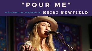 Heidi Newfield performs Pour Me at Backstage Nashville! YouTube Videos