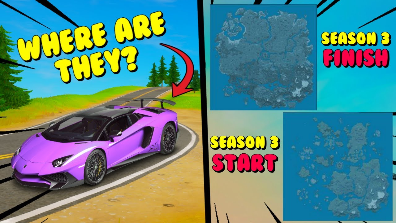Where Are Cars In Fortnite Chapter 2 Season 3 Final Waterless