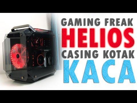 Gaming Freak Helios - Casing Kotak Kaca