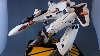Papercraft Custom YF-19 Scratchbuild from Macross Plus