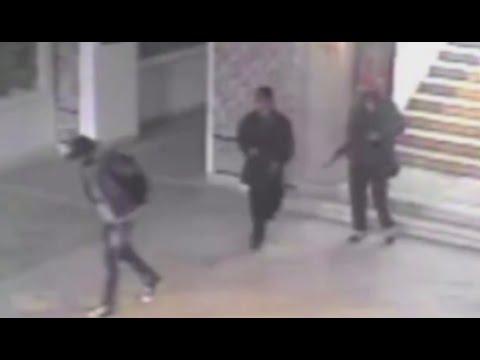 CCTV catches Tunis gunmen moments before museum massacre