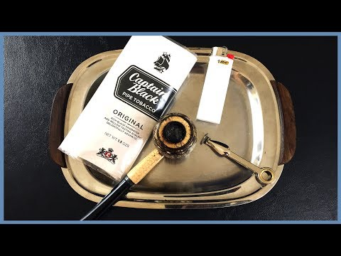 OTC Pipe Tobacco Review: Captain Black Original (White)