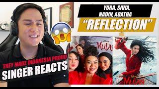 Download lagu Reflection - Indonesian Singers Yura, Sivia, Nadin, Agatha | SINGER REACTION