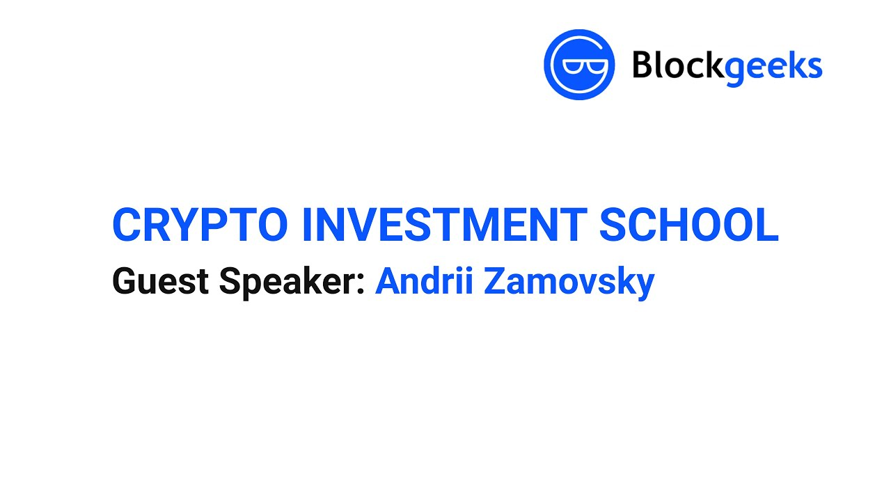 Crypto Investment School Clip: Tokenized Assets & Crypto Equity with Andrii Zamovsky