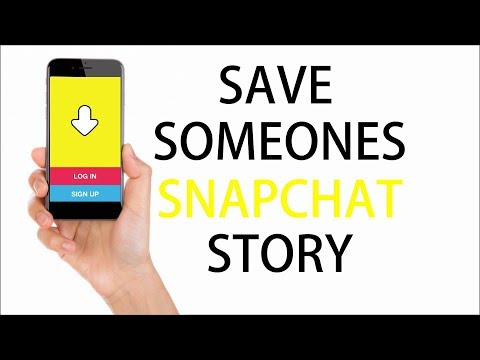 How to save someone's Snapchat story (no jailbreak / no computer)