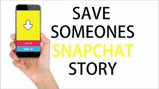 How to save someone's Snapchat story (no jailbreak / no computer)