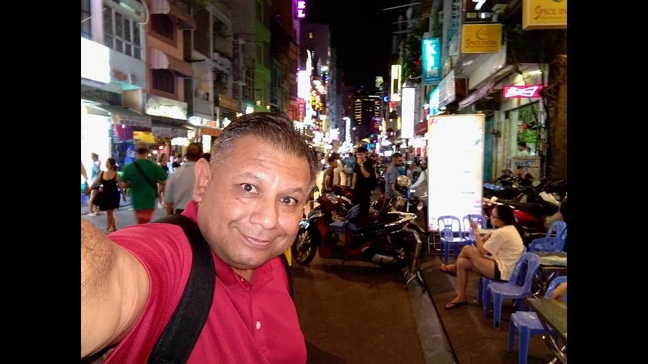 Walking Tour of Bui Vien Street - Downtown Saigon
