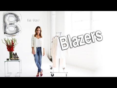 How To Wear a Blazer Two Ways