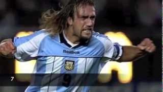 Batistuta Top 10 Goals ● Argentina ● HQ
