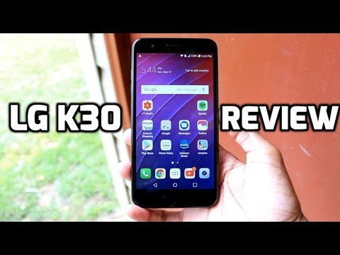 LG K30 Review: Amazon Edition