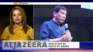 """Duterte expresses """"regret"""" after Obama insult"""