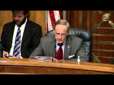 Chairman Carper Opening Statement at Senate Committee Hearing on Virtual Currency