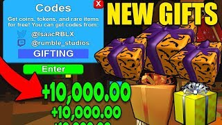 *NEW* MINING SIMULATOR GIFTS UPDATE AND CODES 2018  Roblox *Halloween 3/3*