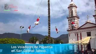 VOLADORES DE PAPANTLA En San Gabriel Jalisco