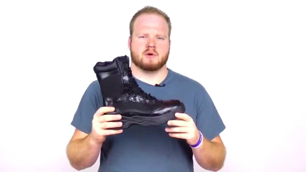 a1f8fd3662b Rocky Fort Hood Zipper Waterproof Duty Boot Style# - FQ0002149