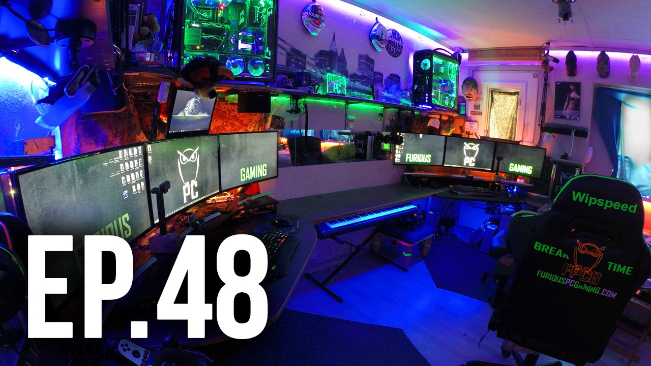 Room Tour Project 48 Best Gaming And Desk Setups Youtube