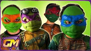 Teenage Mutant Ninja Turtles 1 and 2 with guest Michelangelo