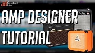 Garageband Amp Designer Tutorial