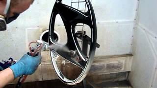 хромирование деталей(процесс химической металлизации изделия - нанесение металлического зеркального слоя на рекламное изделие..., 2013-03-23T13:36:57.000Z)
