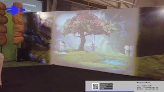 Gua Cerita at Karnival Upin Ipin - Interactive Colouring Activation