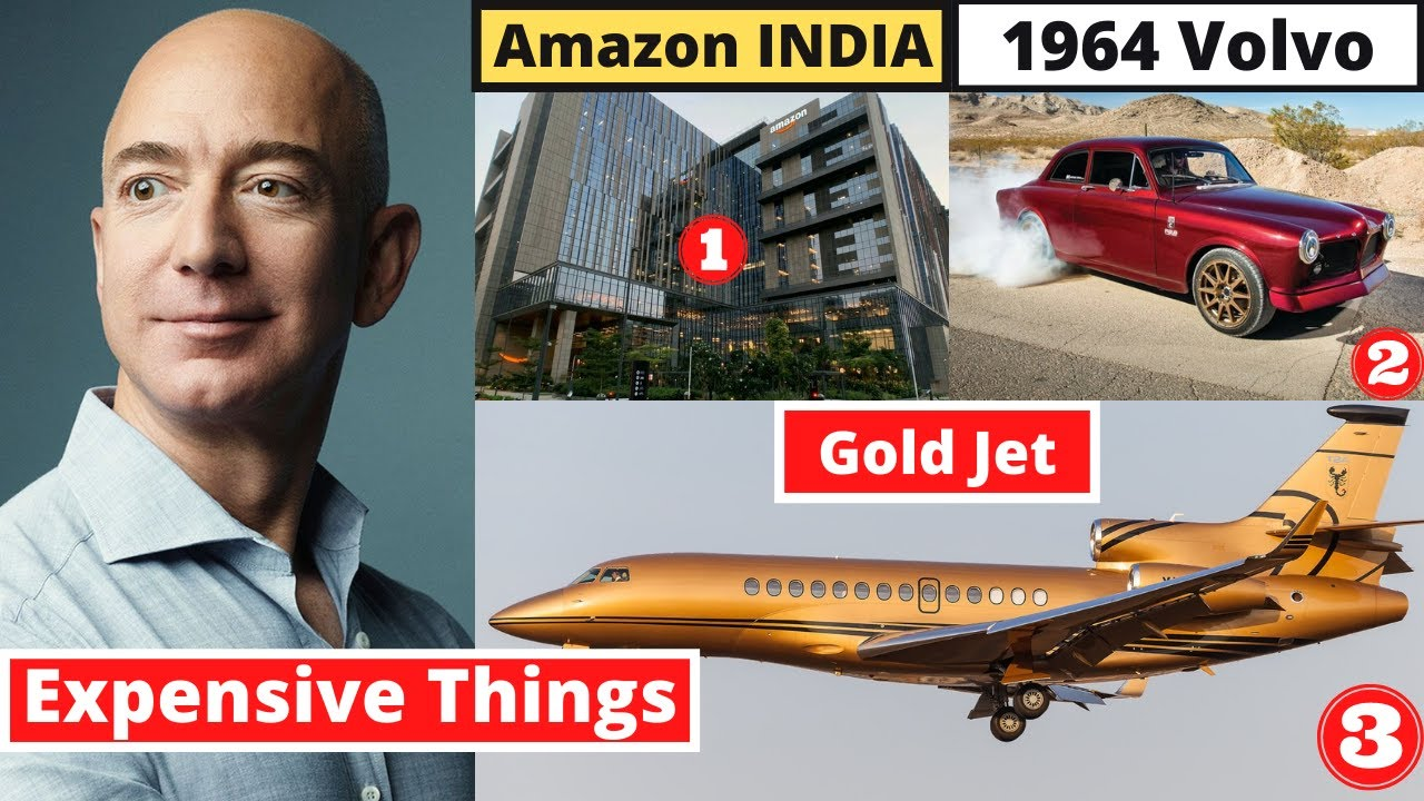 10 Most Expensive Things Jeff Bezos Owns - MET Ep 18