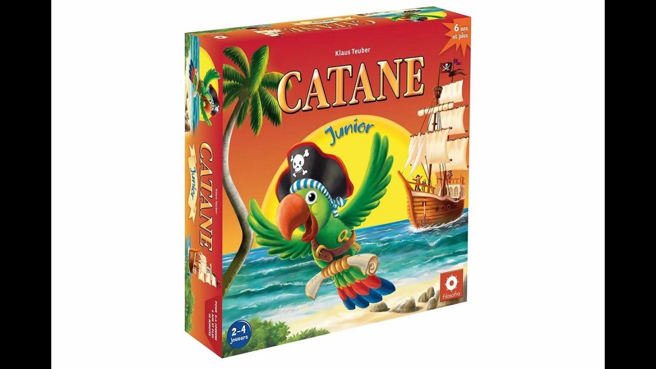 Catane Junior : un jeu de société pour les enfants dès 6 ans - YouTube