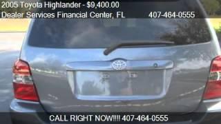 2005 Toyota Highlander 4-CYL W/3RD ROW (SE) - for sale in Ap