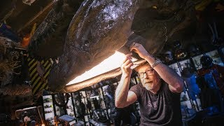 Adam Savage's One Day Builds: Dinosaur Skull Lamp!