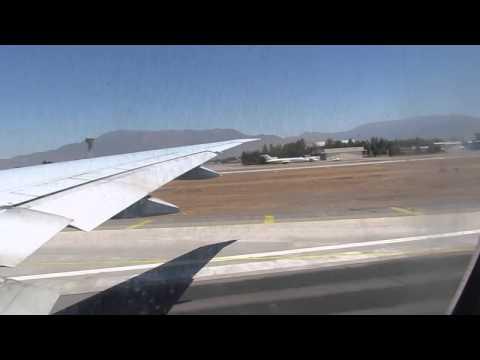 Despegue KLM en Santiago de Chile