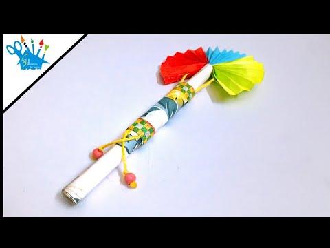 Origami Paper Fan | DIY Paper Fan | Fan Making Full Tutorial For Kids | Creative