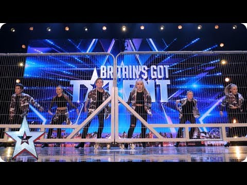 Tap Attack show us their fancy footwork! | Auditions | BGT 2018