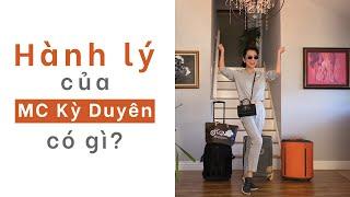 HÀNH LÝ ĐI DU LỊCH CỦA KỲ DUYÊN CÓ GÌ? Packing Tips for Traveler| (With English Subtitles)