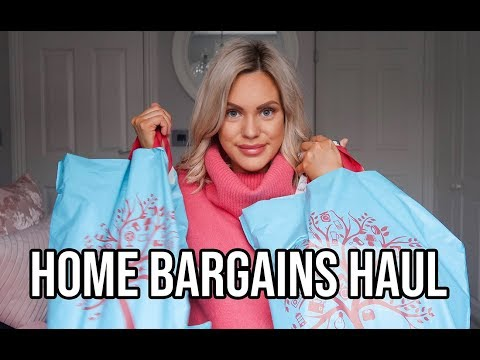 HOME BARGAINS HAUL 2019 | HOMEWARE, BEAUTY PRODUCTS, CLEANING AND MORE!