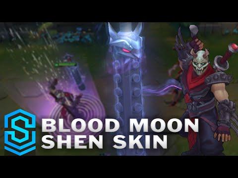 Blood Moon Shen (2016 Update) Skin Spotlight - Pre-Release - League of Legends